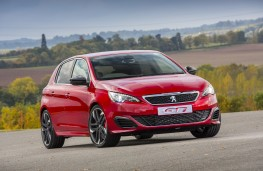 Peugeot 308 GTi, front, static