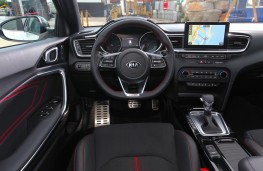 Kia Ceed GT, 2018, interior