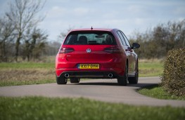 Volkswagen Golf GTI, 2017, rear