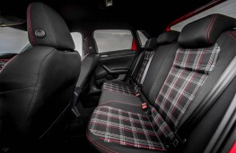 Volkswagen Polo GTI, 2018, rear seats