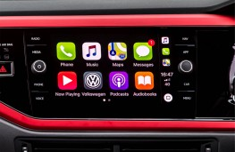 Volkswagen Polo GTI, 2018, display screen