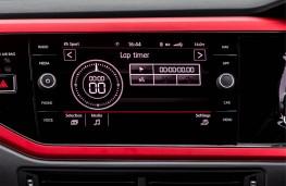 Volkswagen Polo GTI, 2018, display screen, track mode