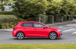 Volkswagen Polo GTI, 2018, side