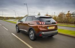 Peugeot 3008, 2017, GT Line, rear, action
