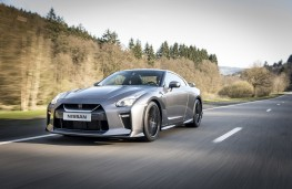 Nissan GT-R, 2017, front, action