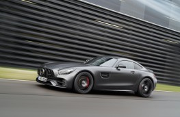 Mercedes-AMG GT C Coupe Edition 50, 2017, side