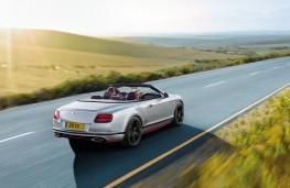 Bentley Continental GT Speed Black Edition Convertible, rear