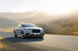 Bentley Continental GT Speed Black Edition, front