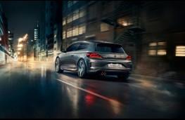 Volkswagen Scirocco GTS, rear
