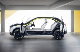 Vauxhall GT X Experimental, 2018, doors open