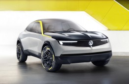 Vauxhall GT X Experimental, 2018, front