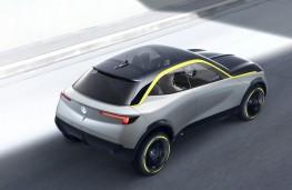 Vauxhall GT X Experimental, 2018, rear