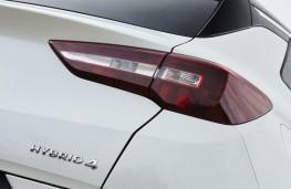 Vauxhall Grandland X Hybrid4, 2020, badge