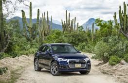 Audi Q5, 2017, front, desert
