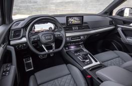 Audi Q5, 2017, interior