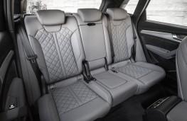 Audi Q5, 2017, rear seats