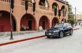 Audi Q5, 2017, Hotel California, upright