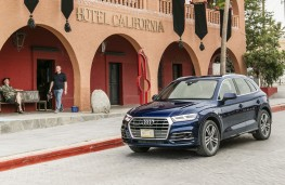 Audi Q5, 2017, Hotel California, wide, crop
