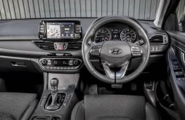 Hyundai i30 Fastback, 2018, interior, auto