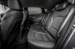 Hyundai i30 Fastback, 2018, rear seats