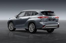 Toyota Highlander, 2020, rear