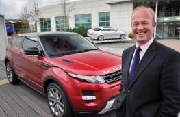 Jeremy Hicks, Jaguar Land Rover UK managing director