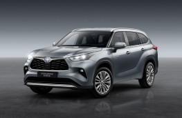 Toyota Highlander, 2020, front