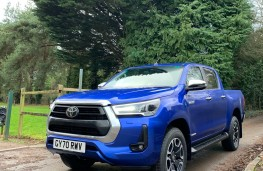 Toyota Hilux Invincible, 2021, front, upright