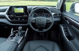Toyota Highlander, 2021, interior