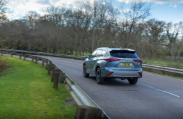 Toyota Highlander, 2021, rear, action