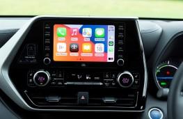 Toyota Highlander, 2021, display screen