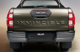 Toyota Hilux, 2020, rear