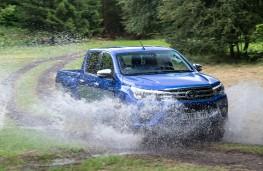 Toyota Hilux, 2016, off road, splash