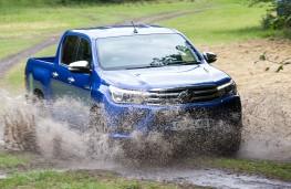 Toyota Hilux, 2016, off road, mud