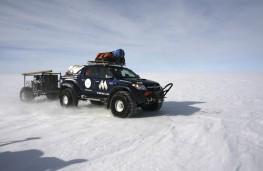 Toyota Hilux, South Pole