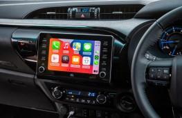 Toyota Hilux, 2020, display screen
