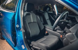 Honda Civic 4dr, front seats