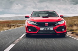 Honda Civic Type R, full front action