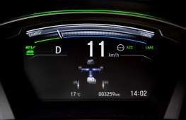 Honda CR-V Hybrid digital display