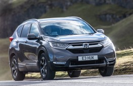 Honda CR-V Hybrid front action