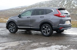 Honda CR-V Hybrid rear threequarters