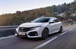 Honda Civic, front action
