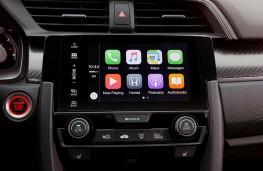 Honda Civic, dash detail