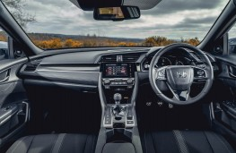 Honda Civic, dashboard