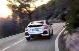 Honda Civic, rear action