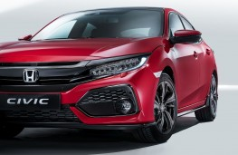 Honda Civic 2017 front detail
