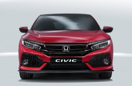 Honda Civic 2017 front