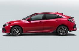 Honda Civic 2017 Side