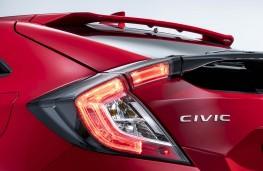 Honda Civic hatchback 2017 detail