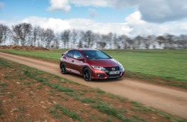 Honda Civic Sport, side, action